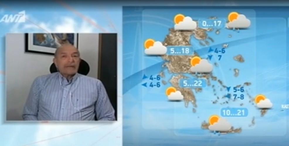 ΚΑΙΡΟΣ Μεγάλη πτώση της θερμοκρασίας,ισχυρές καταιγίδες έως το τέλος της εβδομάδας