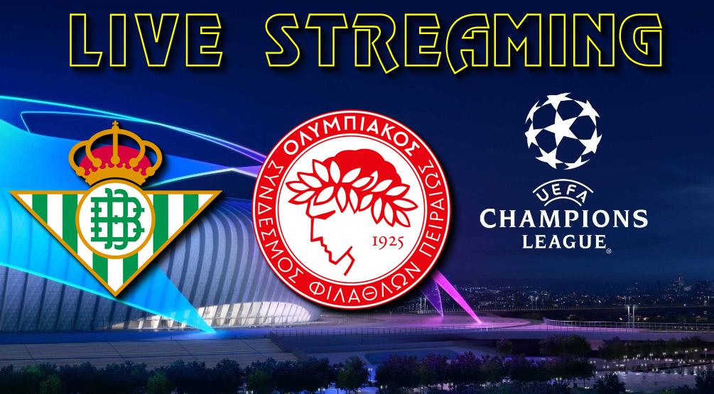 Μπέτις-Ολυμπιακός Live streaming