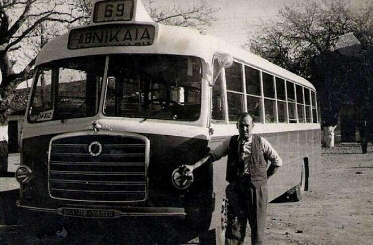 Επιστροφή στο χρόνο: Φωτορεπορτάζ απο παλιά λεωφορεία συγκοινωνιών στην Αθήνα…