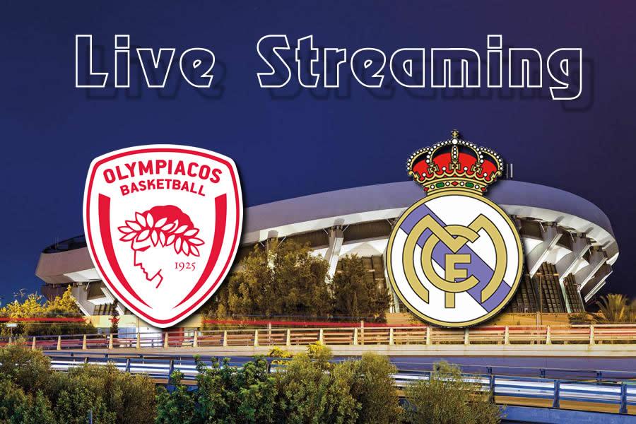 Ολυμπιακός-Ρεάλ Μαδρίτης Live streaming
