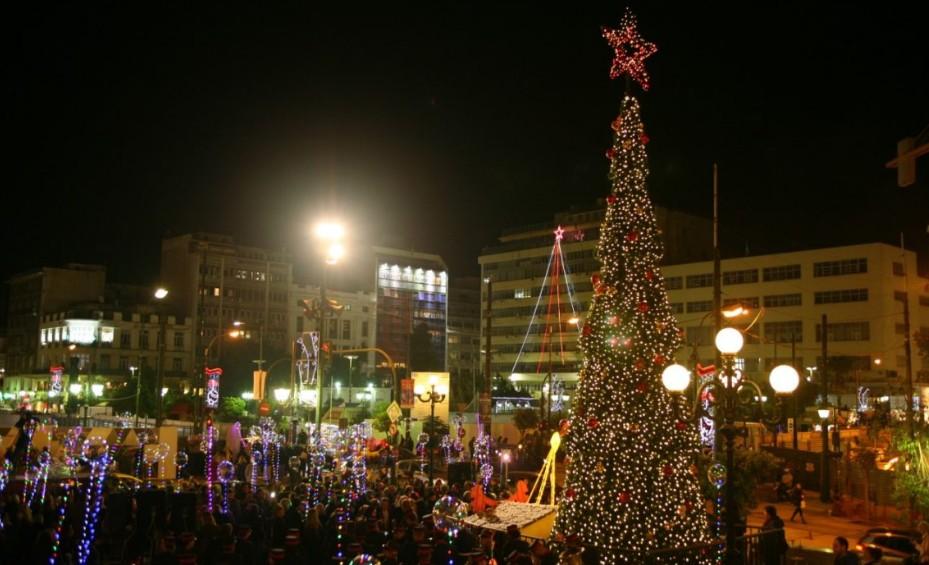 Δήμος Πειραιά Την Παρασκευή στις 19.00 η φωταγώγηση του Χριστουγεννιάτικου δέντρου