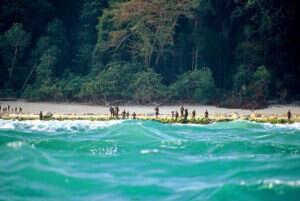 isolated tribe sentinel island andaman madhumala chattopadhyay india 2 5c0e40134b0e0  700 300x201 - 27 χρόνια πριν Μια γυναίκα επικοινώνησε με την φυλή που σκότωσε τον John Chau και η συνάντησή της ήταν εντελώς διαφορετική