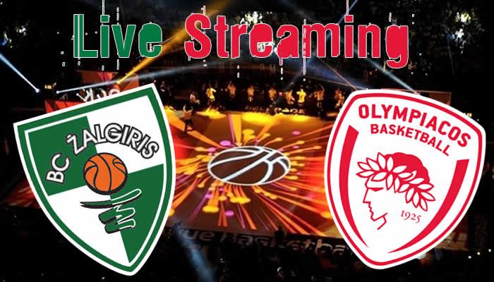 Ζαλγκίρις-Ολυμπιακός live streaming