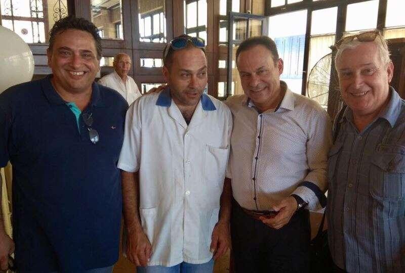 Περιοδεία Νίκόλαου Μανωλάκου στην Αίγινα