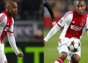 Lerin Duarte of Ajax during the Europa League match between Ajax Amsterdam and Red Bull Salzburg at the Amsterdam Arena on february 20, 2014 in Amsterdam, The Netherlands(Photo by VI Images via Getty Images)