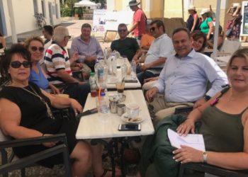 """Επίσκεψη Νίκου Μανωλάκου στις Σπέτσες: """"Βασική προτεραιότητα η αντιμετώπιση των προβλημάτων των κάτοικων του νησιού"""""""