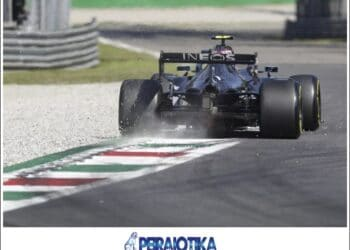 epa08648986 Finnish Formula One driver Valtteri Bottas of Mercedes-AMG Petronas in action during the qualifying session of the Formula One Grand Prix of Italy at the Monza race track, Monza, Italy 05 September 2020. The 2020 Formula One Grand Prix of Italy will take place on 06 September 2020.  EPA/Luca Bruno / Pool