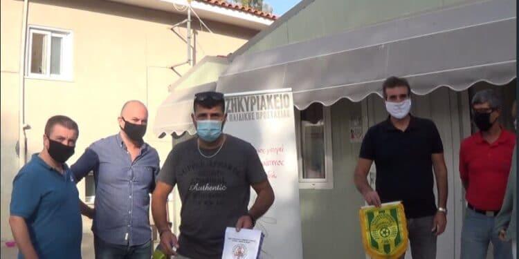 Παράδοση τροφίμων στο ΧΑΤΖΗΚΥΡΙΑΚΕΙΟ Ίδρυμα. (βιντεο-φωτο).